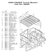 Autowood Restoration Exploded View Drawings
